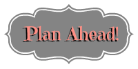 Plan Ahead | Oh Sweet Mercy