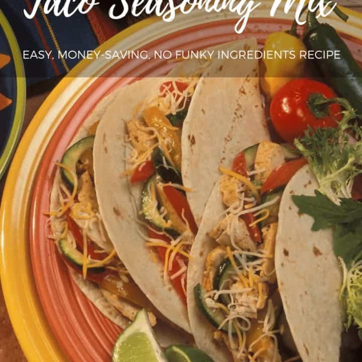Healthy Homemade Taco Seasoning Mix
