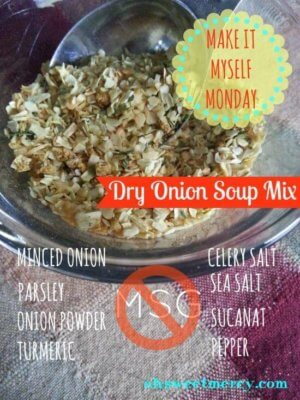 make it myself monday dry onion soup mix