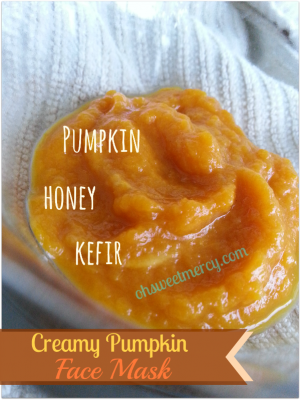 Creamy Pumpkin Face Mask