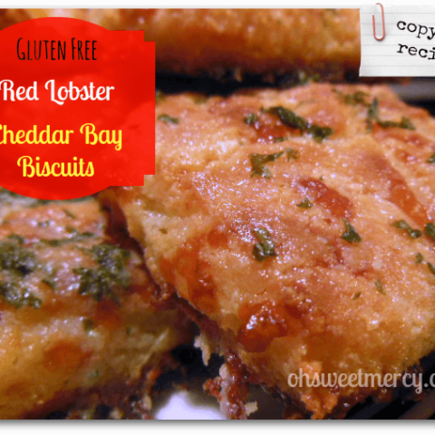 Gluten Free Copycat Cheddar Bay Biscuits (NOT THM)