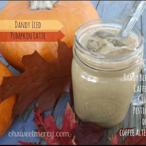 Dandy Iced Pumpkin Latte | THM FP or S