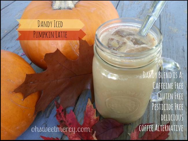 dandy pumpkin latte
