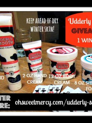 Udderly Smooth Products – Review and Giveaway