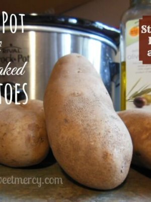 Crock Pot Salt Baked Potatoes