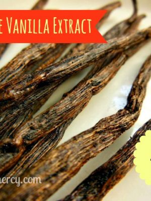 Homemade Vanilla Extract {Make it Myself Monday}