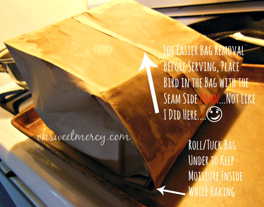 How to Make Brown Bag Chicken - a healthier alternative to plastic oven bags. #thm #vintagecookingmethods #chicken #recipes