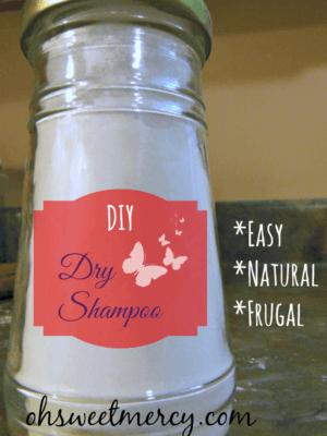 DIY Dry Shampoo {Make it Myself Monday}