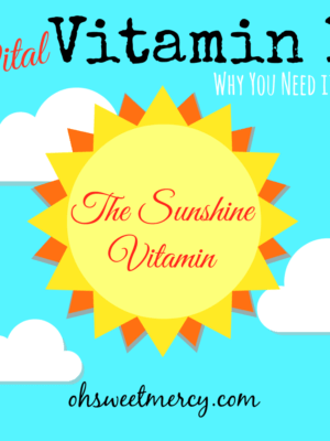 Vital Vitamin D: Why You Need it Now