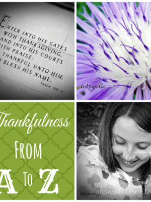 Thankful Thursdays: The B List