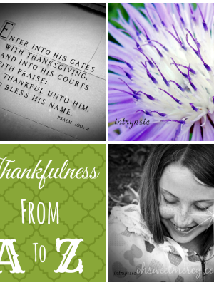 Thankful Thursdays – The D List