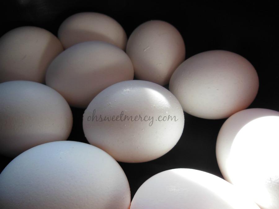 eggs in crock pot