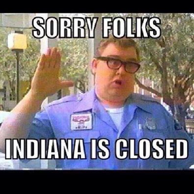 john candy indiana is closed