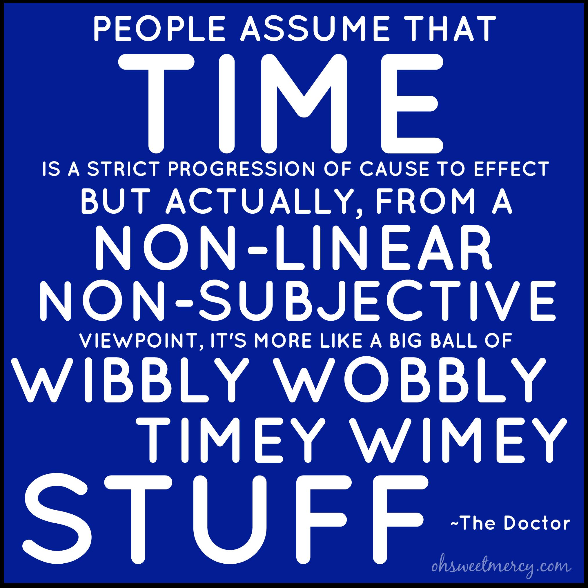 Wibbly Wobbly Timey Wimey Wibbly wobblyWibbly Wobbly Timey Wimey Facebook Cover