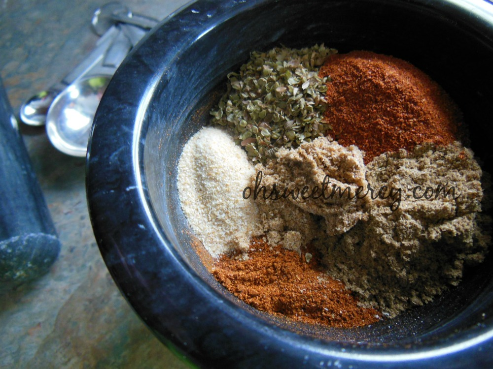 Chili Powder Ingredients