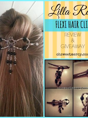 Lilla Rose Flexi Hair Clip – Review and Giveaway