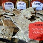 Gluten Free Crackers {Oat, Buckwheat, & Chia Seed}