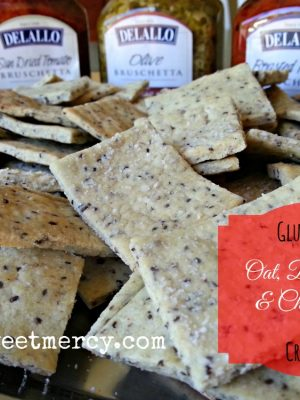 Gluten Free Crackers {Make it Myself Monday}