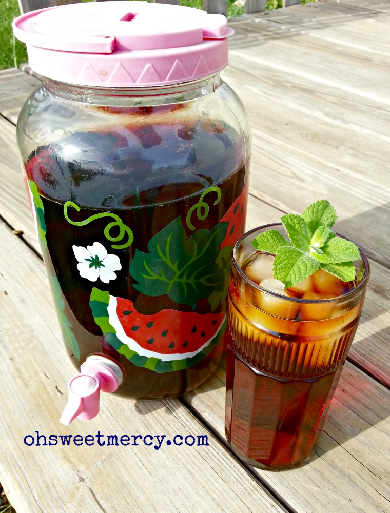 How to make sun tea with loose leaf