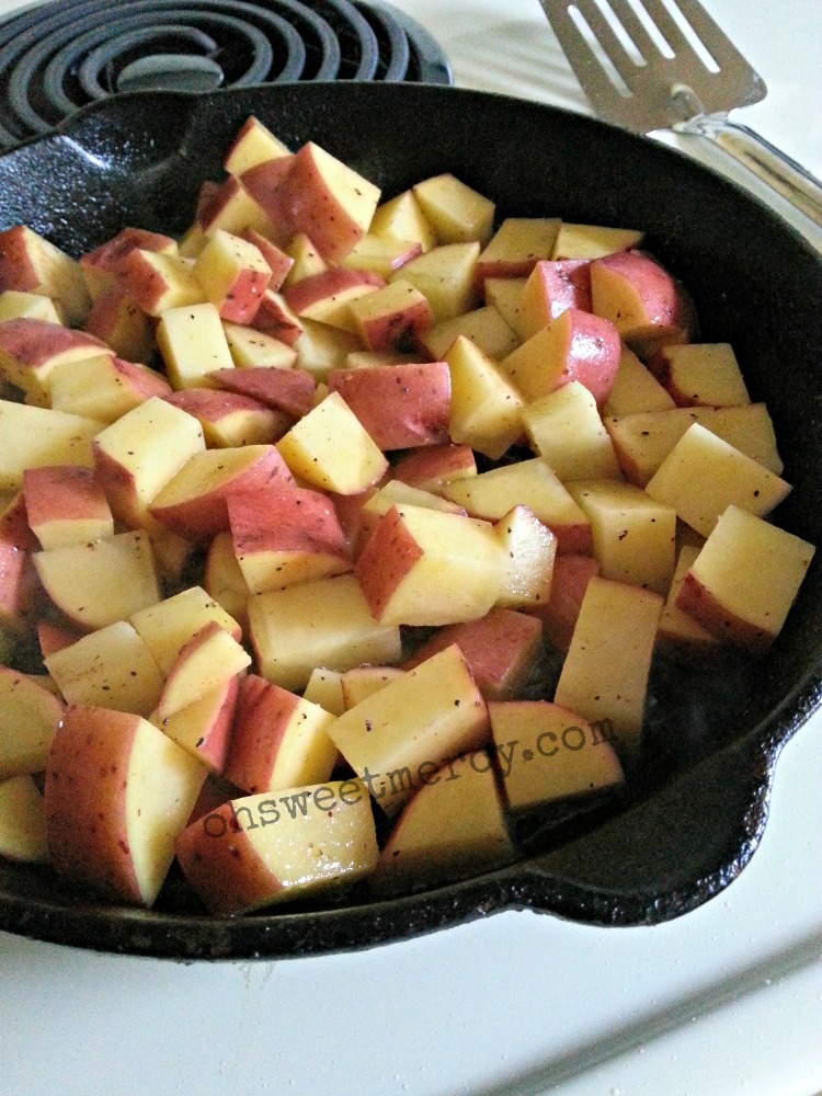 Potatoes in Skillet