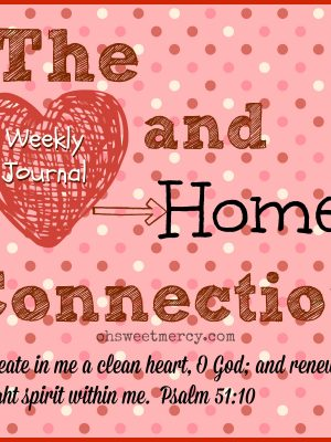 Created to be Orderly – Clean Heart Journal – Week Five