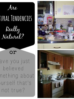 Natural Tendencies – are They REALLY Natural?