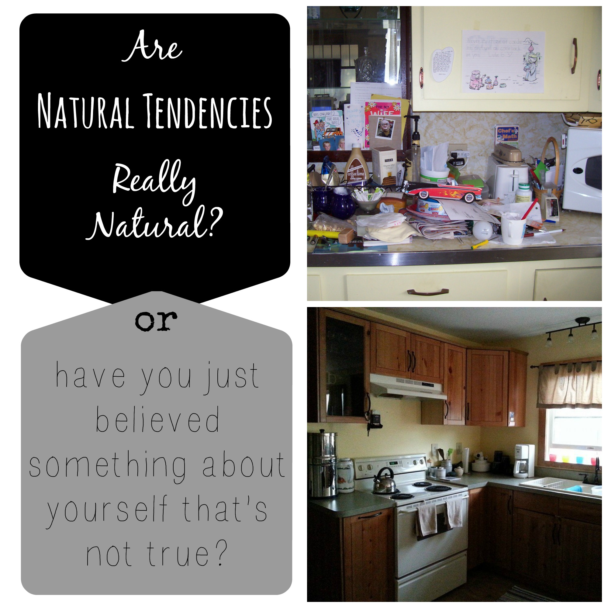 Are Natural Tendencies Really Natural