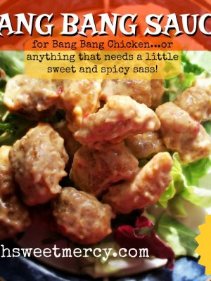 Bang Bang Sauce with Bang Bang Chicken Recipe