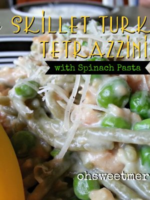 Easy Skillet Turkey Tetrazzini {Gluten Free}