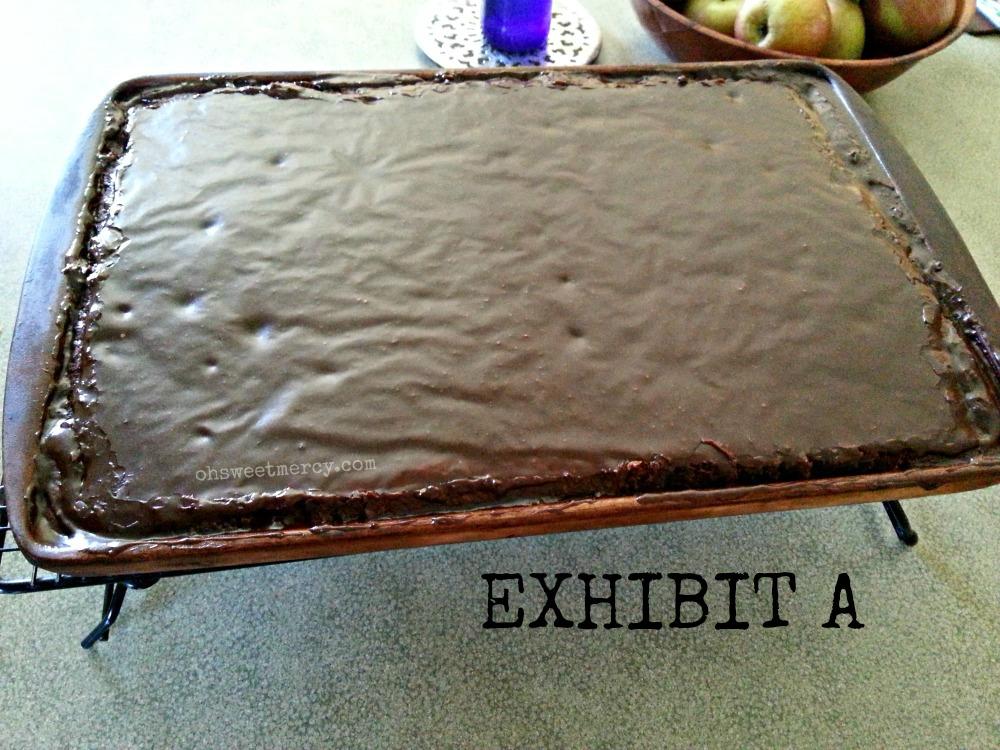 Exhibit A - The Great Gluten Free Buckwheat Texas Sheet Cake Caper