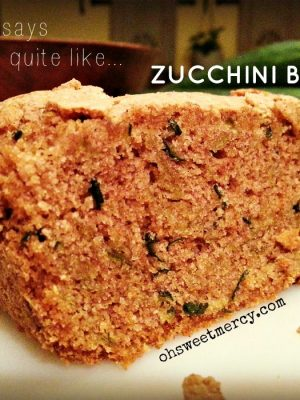 Cardamom Ginger Zucchini Bread – My From the Farm Favorite 8/22/14