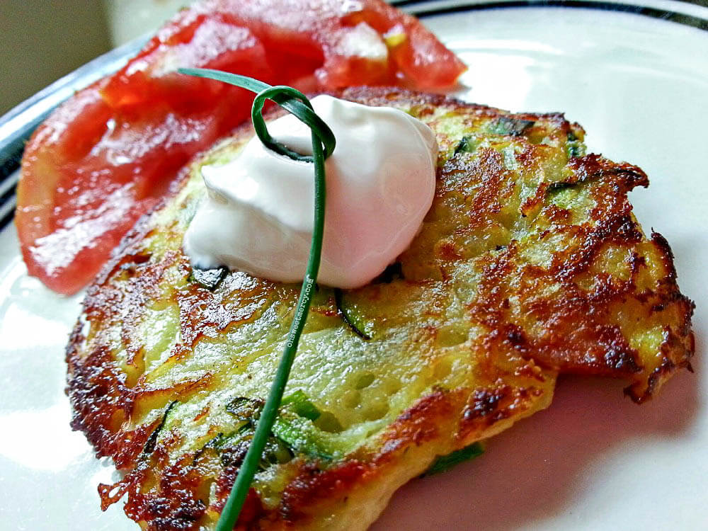 Zucchini Fritters | THM S, Low Carb, Keto