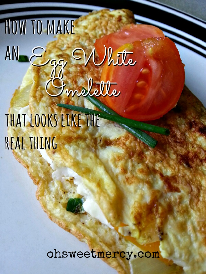 How to Make an Egg White Omelette that Looks Like the Real Thing