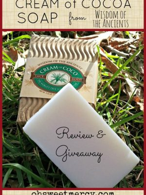 Cream of Coco Soap – Review and Giveaway!