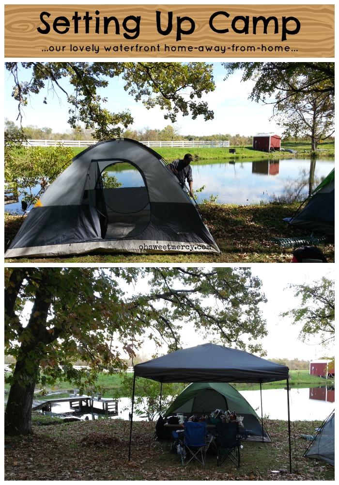 Sukkot 2014 - Setting up Camp