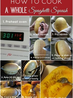 How to Cook A Whole Spaghetti Squash
