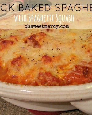 Mock Baked Spaghetti PLUS Easy Marinara Recipe
