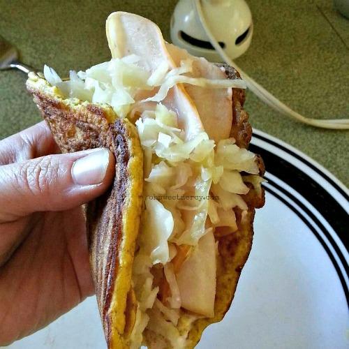 Coconut Flour Flat Bread - It's Flexible!