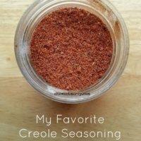 My Favorite Creole Seasoning Blend