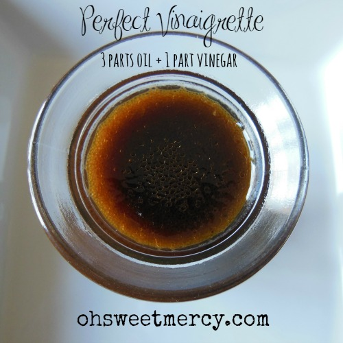 The Trick to Making Perfect Vinaigrette Every Time | Oh Sweet Mercy