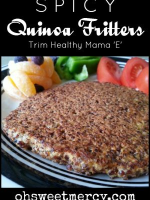 Spicy Quinoa Fritters