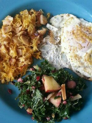 Easy Low Carb Turkey Hash can be made to suit THM S, E or FP styles! Great way to use up holiday leftovers. #thm #trimhealthymama #turkey #thanksgiving #recipes