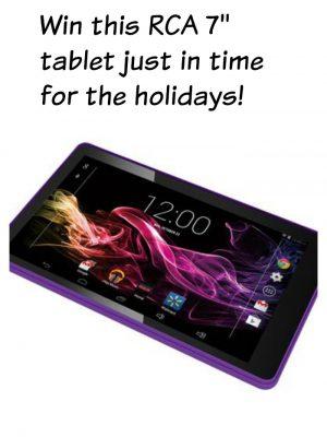 Win an RCA 7″ Tablet!