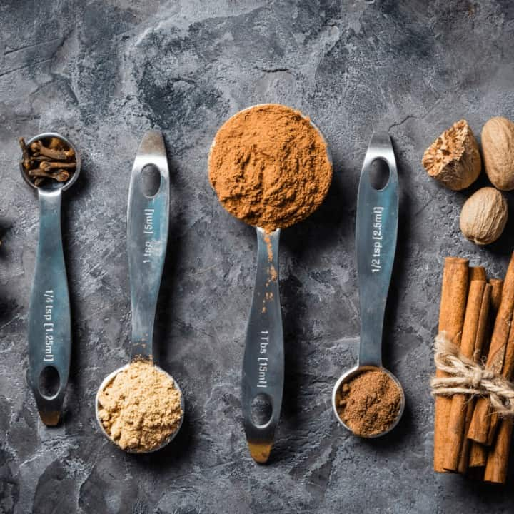 Make this easy Homemade Chai Spice Blend for all your chai desires. No funky ingredients! #DIY #recipes #chai