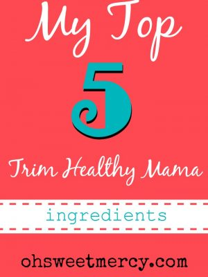 My Top 5 Trim Healthy Mama Ingredients