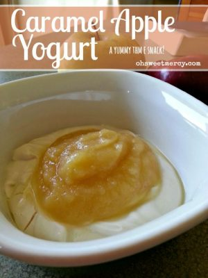 Caramel Apple Yogurt – THM E