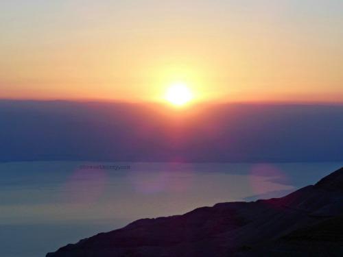 Sunset at Machaerus |Oh Sweet Mercy #tastethehoney2015 #experiencetheholyland #ohsweetmercy