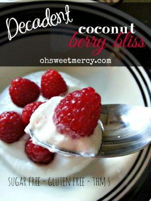 Decadent Coconut Berry Bliss