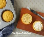 Gluten Free Garlic Biscuits in a Mug (or Muffin Pan)