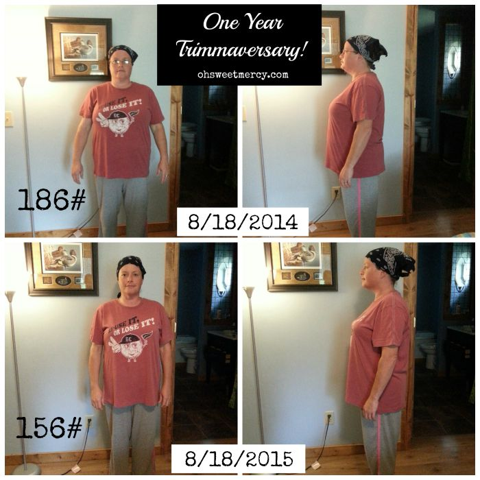 My Trim Healthy Mama Trimmaversary - One Year Later | Oh Sweet Mercy #THM #testimonials #ohsweetmercy